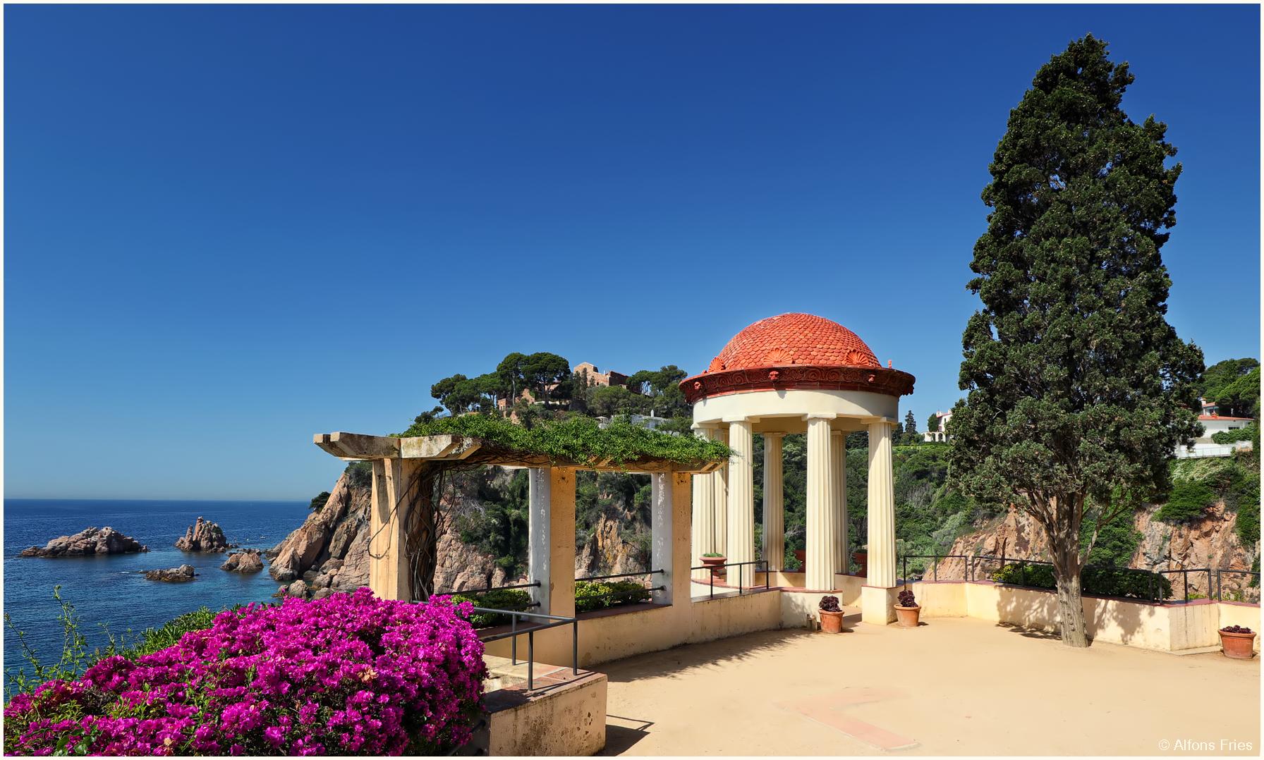 Der botanische Garten Marimurtra, ...