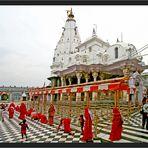 der Brajreshwar Devi Tempel in Kangra