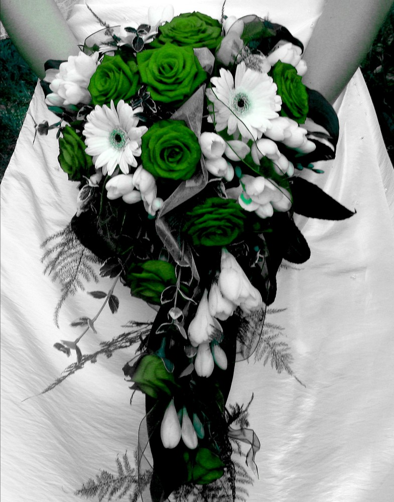 Der Brautstrauss Foto Bild Abstraktes Farben Grun Bilder Auf
