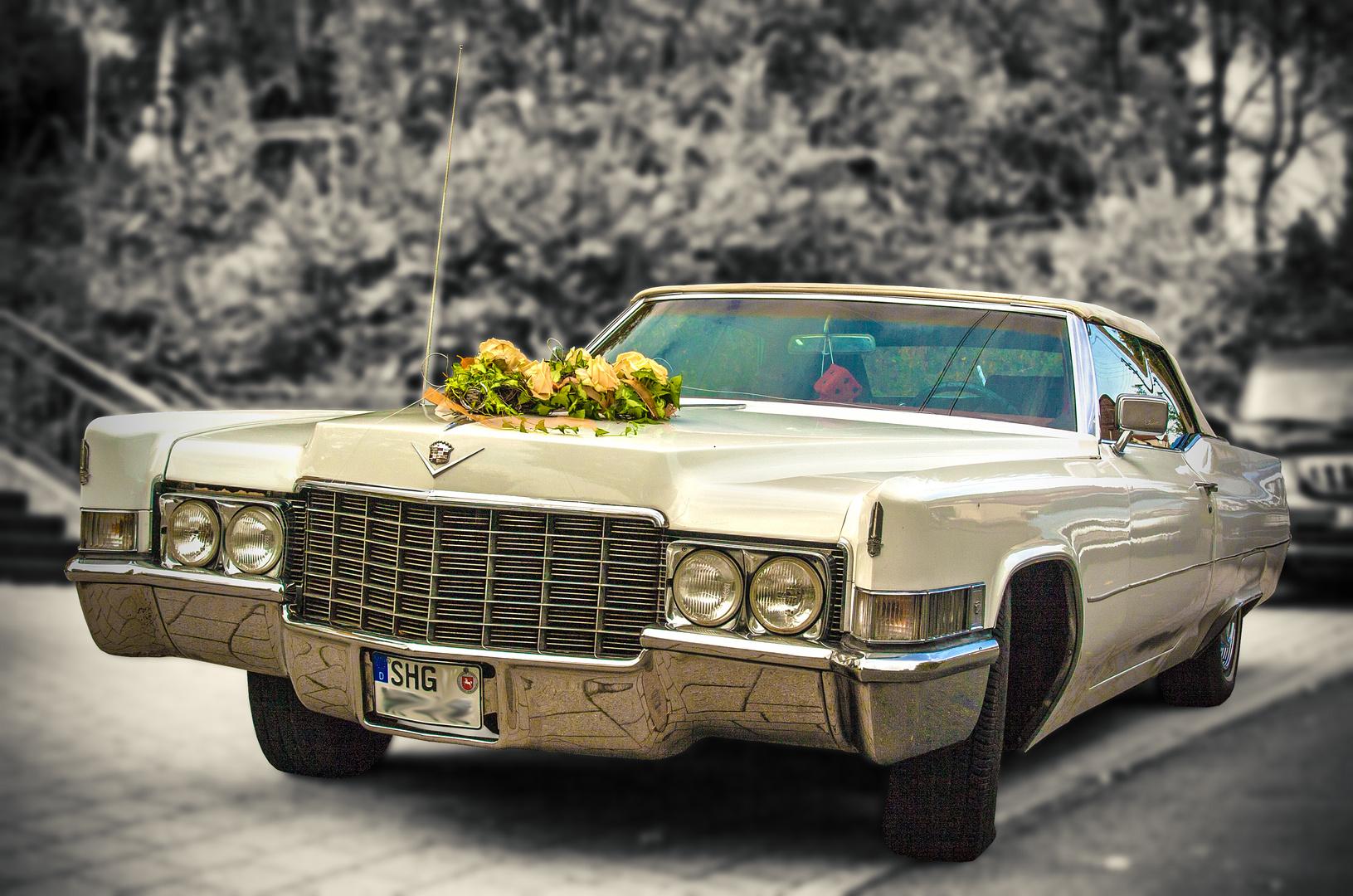 Der Brautwagen...