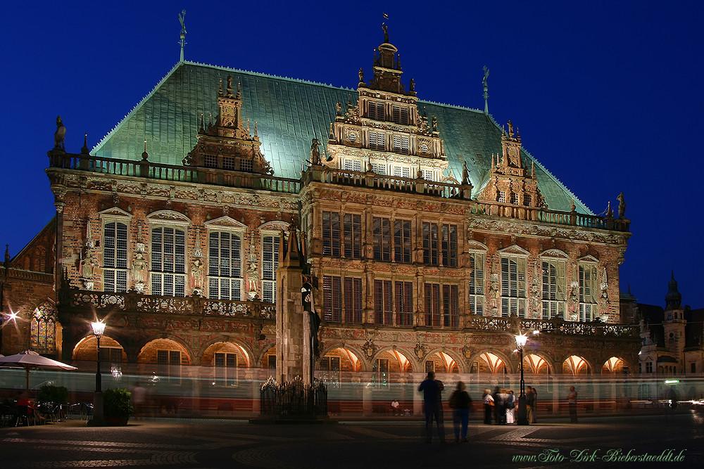 Der Bremer Rathausplatz