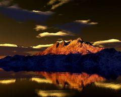 Der brennende Berg