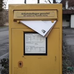 Der Brief,  der niemals ankam.