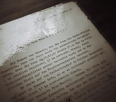 Der Brief,.......den man nie empfangen möchte....