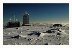 """der Brocken """" der höchste Berg Norddeutschlands, mit Blick auf die Brockenwarte """""""