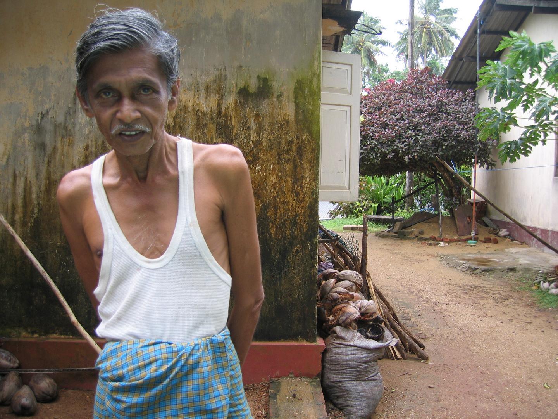 Der Bruder vom Nachbar in Ambalangoda