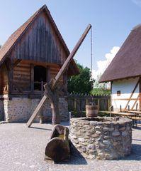 Der Brunnen in der Bachritterburg