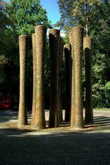 Der Brunnen steht im Schlossgarten In Karlsruhe