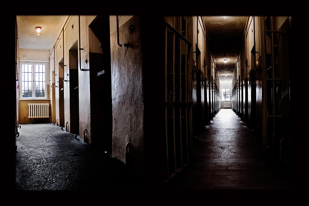 Der Bunker von Buchenwald.