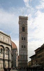 Der Campanile am Dom von Florenz