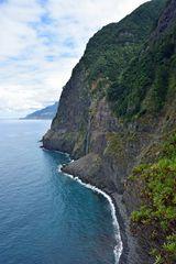 Der Cascata do Veu da Noiva im Nordwesten von Madeira