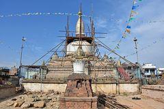 Der Chilanchu-Stupa in Kirtipur im Jahr 2018