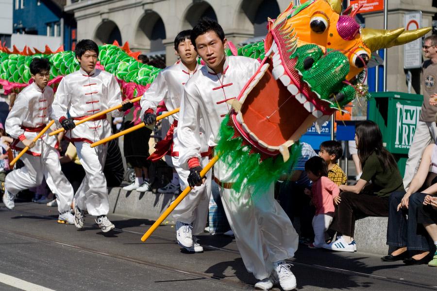 Der chinesische Drachen ...
