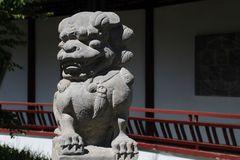 der chinesische Löwe fehlt natürlich nicht