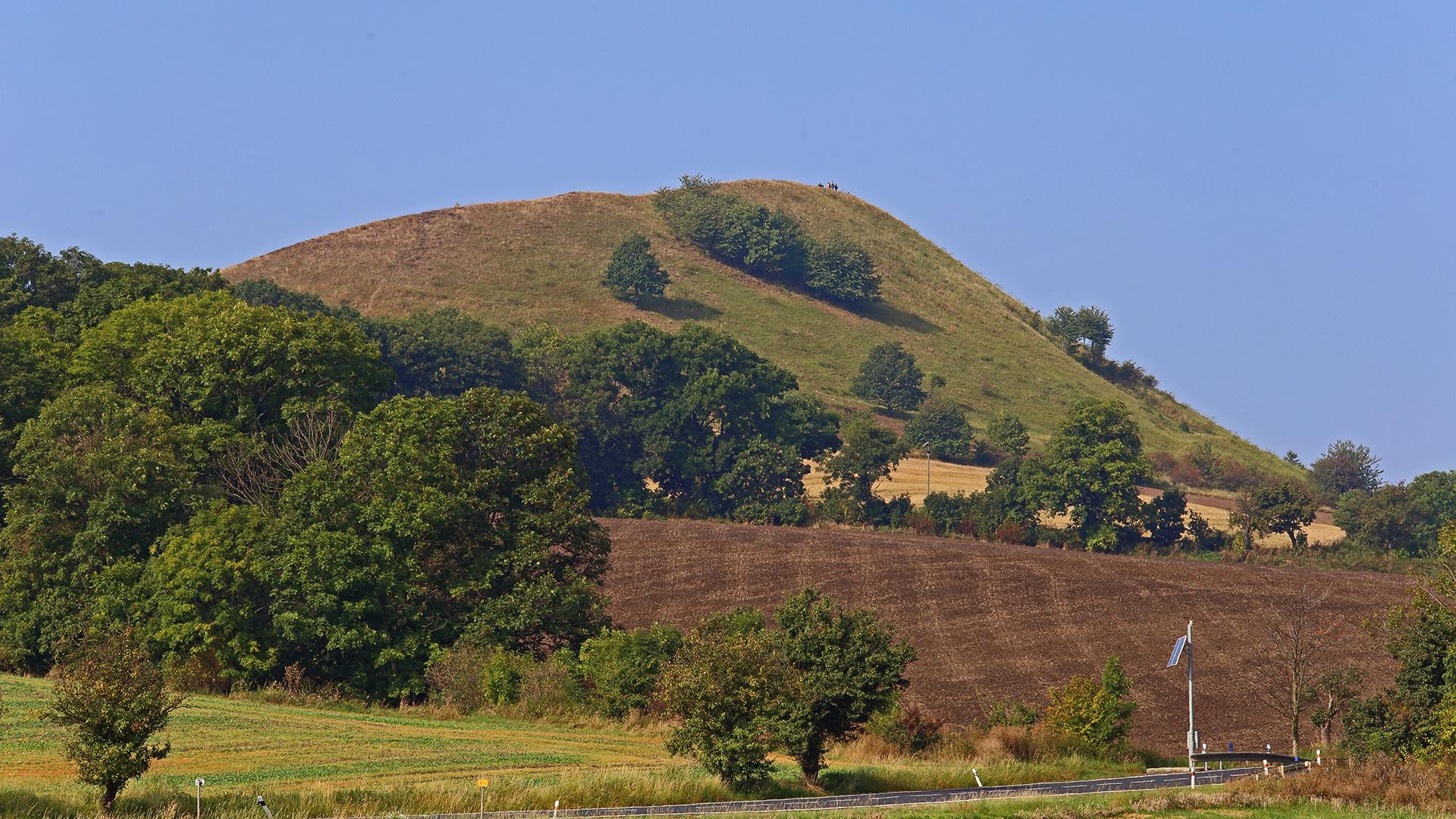 """Der Cicov ein """"geschützter"""" Berg hinsichtlich der Vegetation..."""