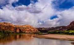 Der Colorado bei Moab, Utah, USA