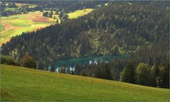 Der Crestasee # El lago Cresta