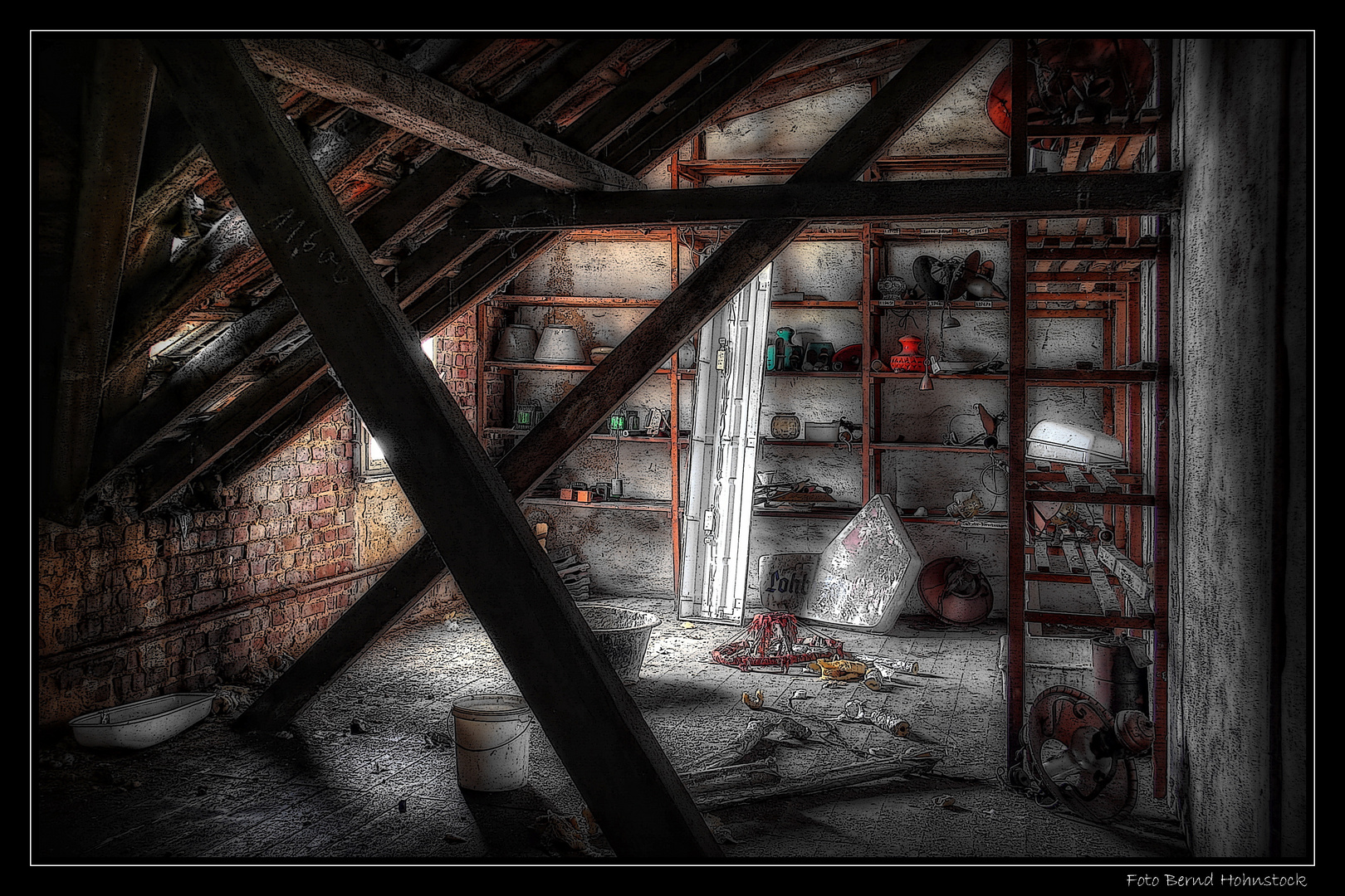 der Dachboden ...