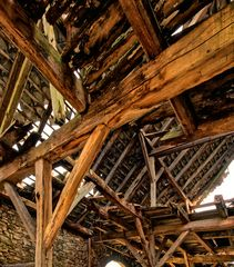 Der Dachstuhl ist cool...