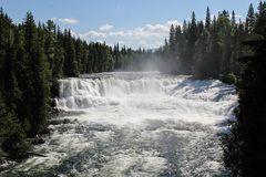 Der Dawson Fall im Wells Gray Provincial Park...