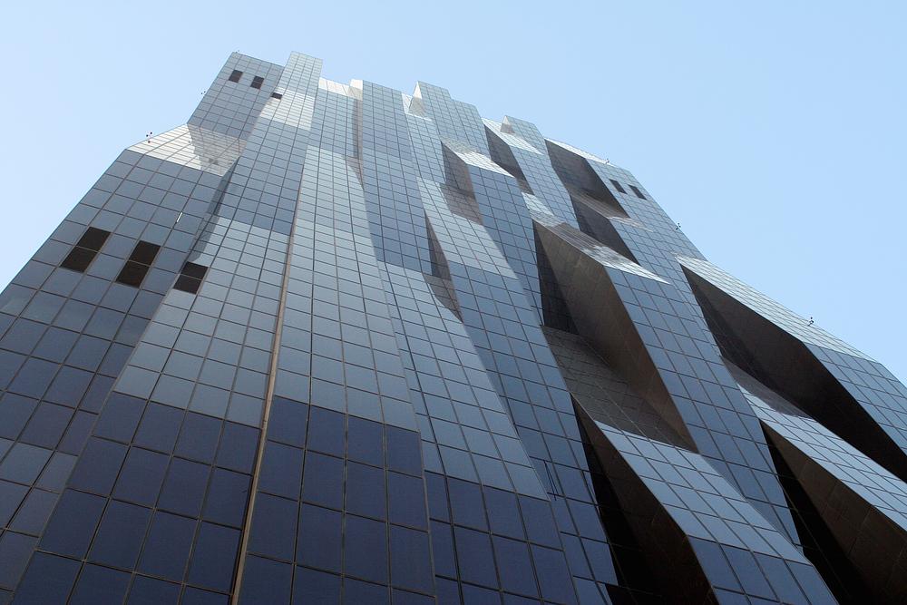 Der DC-Tower (Fassadendetail)