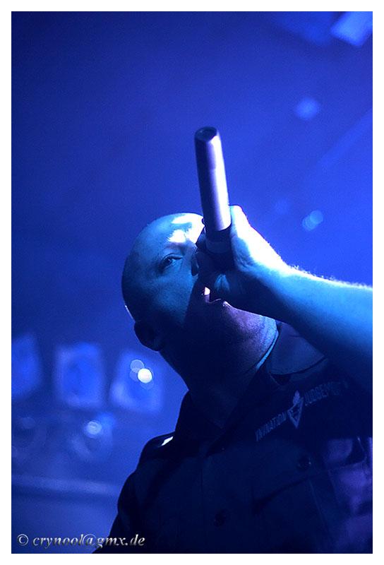 Der Dicke und der Trommler - VNV Nation - live in FFM - 21.03.2007