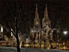 Der Dom in Köln im Winter