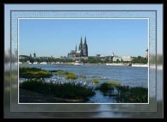 Der Dom steht in Köln immer im Mittelpunkt (2)