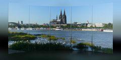 Der Dom steht in Köln immer im Mittelpunkt
