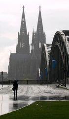 Der Dom und die Brücke.