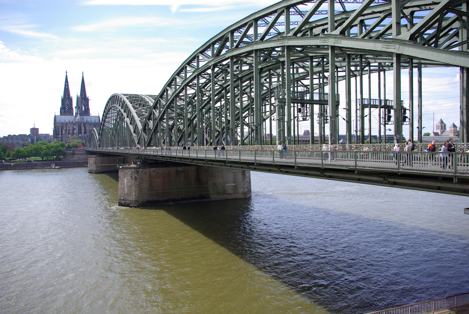 Deutzer Brücke Köln