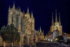 Der Dom und die Severiekirche in Erfurt
