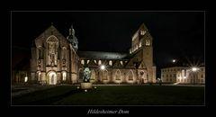 ** der Dom zu Hildesheim, bei Nacht...**