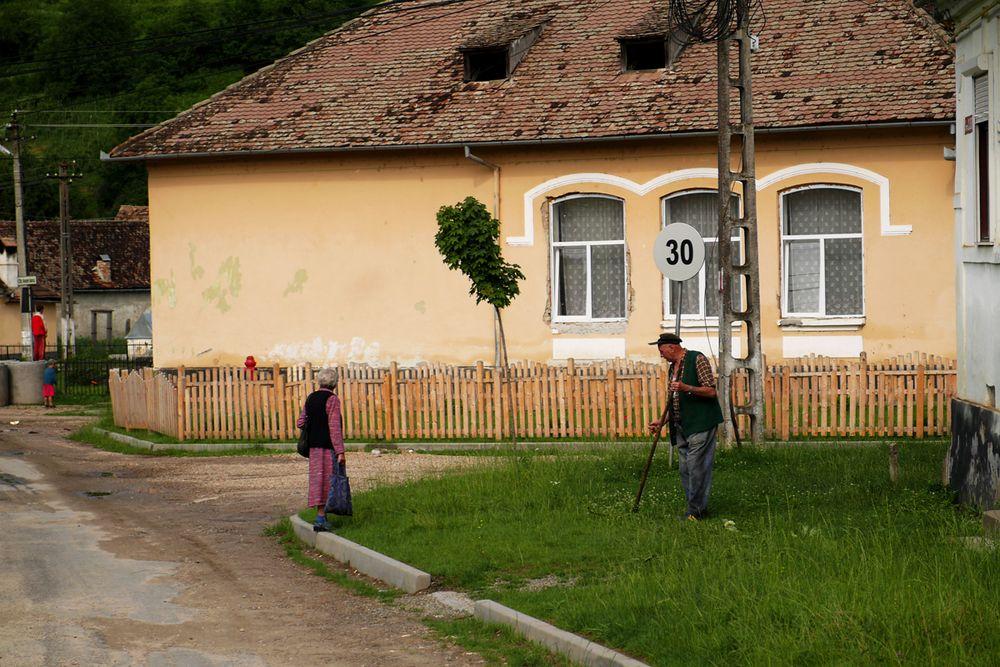 der Dorfplatz