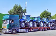 Der Drei-Trecker-Truck