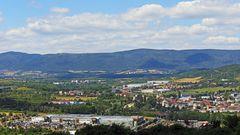 Der dritte Juli war ein großartiger Tag was die klare Sicht auf das Erzgebirgebirge....