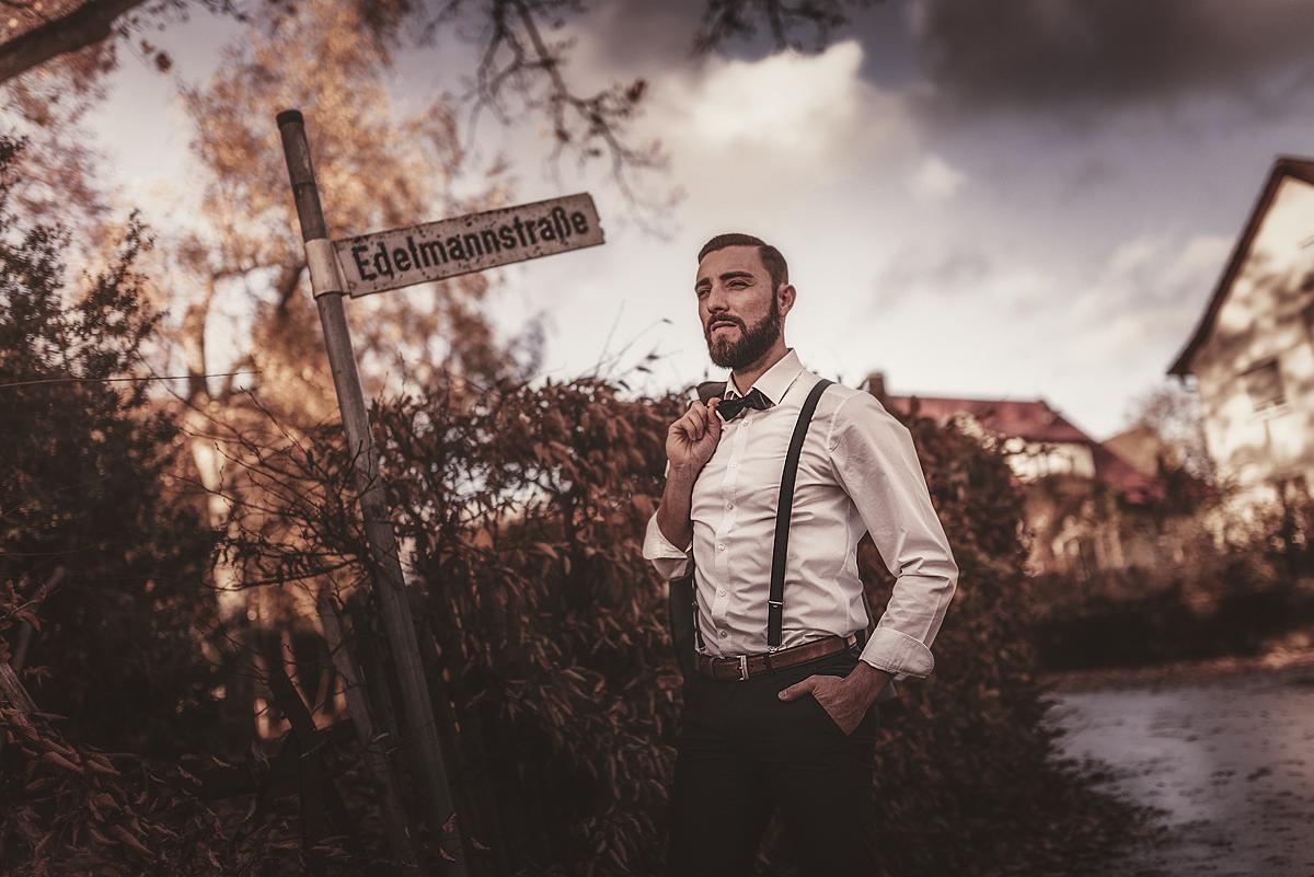 Der Edelmann aus seiner Straße