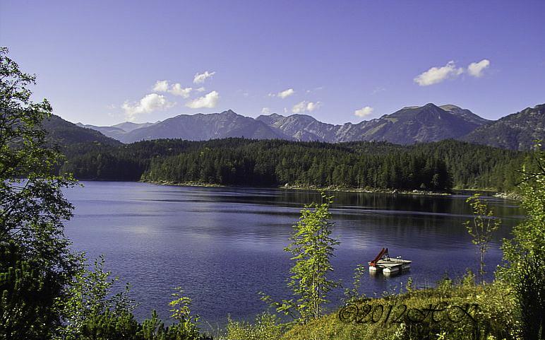Der Eibsee (Zugspitze)