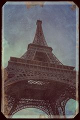 Der Eiffelturm um 1950 :)