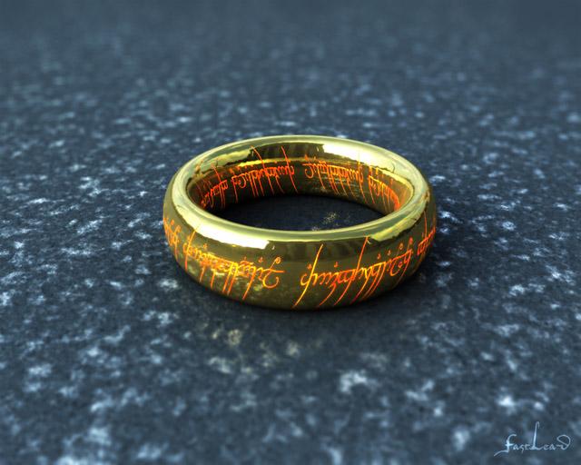 """Der """"Eine"""" Ring"""