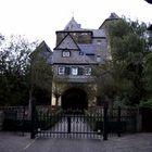 Der Eingang der Burg Runkel