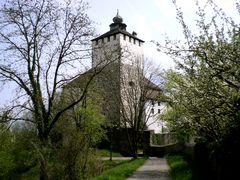Der Eingang zum Schloss