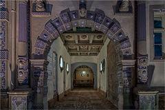 Der Eingang zum Schloß in Bevern