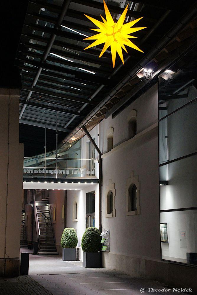 Der Eingang zum Veranstaltungsforum Fürstenfeld