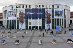 Der Eingang zur ITB 2017 in Berlin