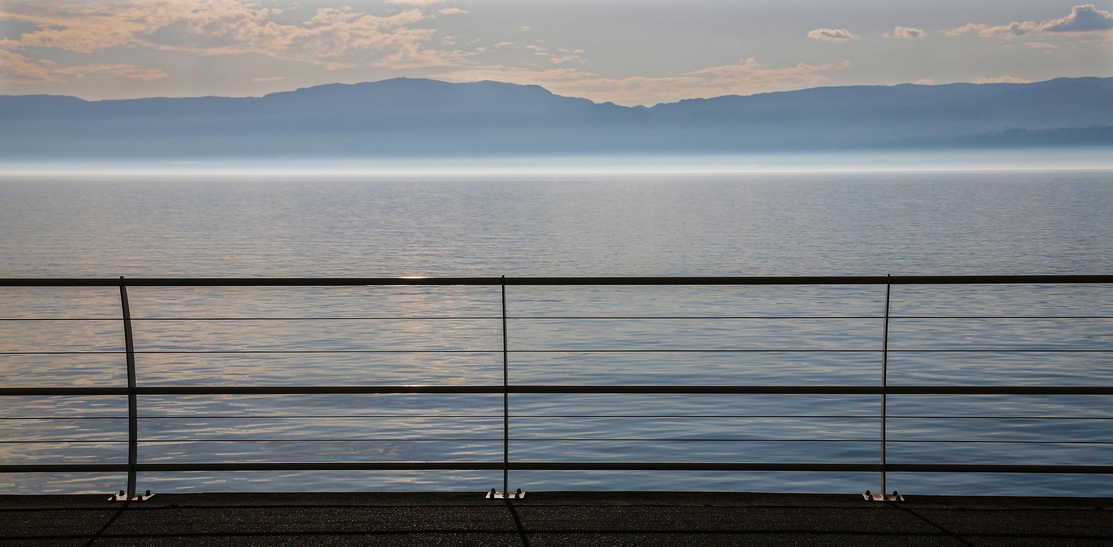 Der eingezäunte See