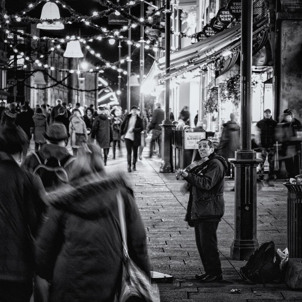 Der einsame  Foto & Bild   street, weihnachten, europa