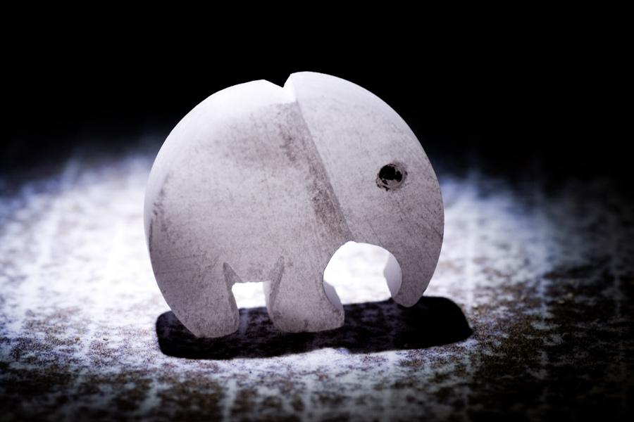 - - Der einsame Elefant - -