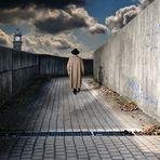 Der einsame Spaziergänger