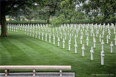 der einzige amerikanische Soldatenfriedhof im Königreich der Niederlande